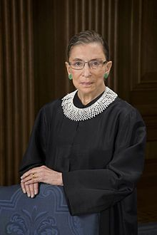 Ruth Joan Bader Ginsburg (born March 15, 1933) is an Associate Justice of the Supreme Court of the United States. Ginsburg was appointed by President Bill Clinton and took the oath of office on August 10, 1993. She is the second female justice (after Sandra Day O'Connor) and the first Jewish female justice