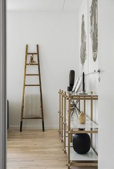 A blend of Nordic and African influences in one interior - via cocolapinedesign.com