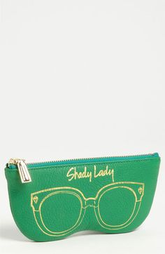 Rebecca Minkoff 'Shady Lady' Leather Sunglasses Case available at Nordstrom