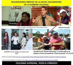 """@pregANDREINA: CAROLINA CESTARI Es la mano derecha de Cilia, la mano q mueve la cuna pic.twitter.com/RBJvzN6t2O #Venezuela @copipega"