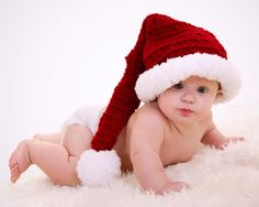 *** This listing is for an INSTANT DOWNLOAD CROCHET PATTERN. You are not buying a finished product. If you would like to order this finished hat, send me a message or look in my shop.*** This adorable baby Santa is quick and easy to make and will look wonderful on your little one. Hats
