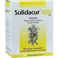 SOLIDACUR 600 mg Filmtabletten:   Packungsinhalt: 50 St Filmtabletten PZN: 04770284 Hersteller: Rodisma-Med Pharma GmbH Preis: 15,52 EUR…