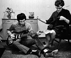 """John Entwistle """"Mom! I'm going to start a band and we'll make lots of money posting our videos on Youtube!!"""""""