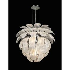 Check out the PLC Lighting 82355PC Charisma 10 Light Chandelier in Polished Chrome