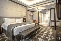 Intercontinental Dhaka City Business Hotel. Completed 2018. 300 rooms. Client: Bangladesh Services Limited, Dhaka. @chada.interiorarchitecture Interior Design Studio, Hospitality, Contemporary Style, Design Projects, Design Inspiration, Design Studios, Bed, Rooms, Furniture