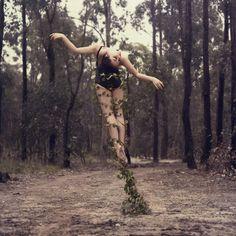 Dreamy Self Portraits of a Former Dancer
