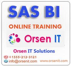 sas bi online training in usa,sas bi training