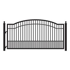 Mighty Mule Biscayne Single Driveway Gate Kit | Buy Online Today