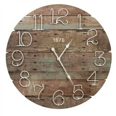 Afbeeldingsresultaat voor riverdale wandbord home Wood Clocks, Sewing Rooms, Woodworking Crafts, Home Art, Woody, Projects To Try, Lily, Cool Stuff, Home Decor