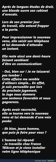 Une blonde avocate | LABOULETTE.fr - Les meilleures images du net!