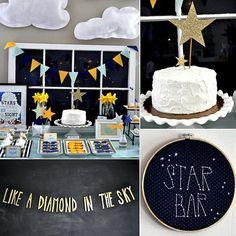 Twinkle Twinkle Little Star Birthday Party Idea