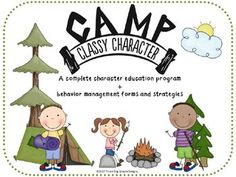 This Camp Classy Character unit contains complete lessons for each character trait plus behavior management forms that I have used successfully for over thirty years. The forms enable you to turn many behavior problems into a positive learning experience for the child. Complete instructions are included for the activities and classroom management forms.