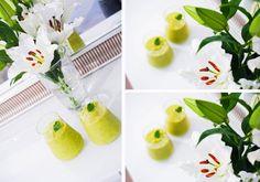 MANGO-MINTTU SMOOTHIE - Tickle Your Fancy | Lily.fi  MANGO-MINTTU SMOOTHIE (2:lle)  200g pakastemangoja 1-2 avocadoa 1 vihreä omena 1 limen mehu tuoretta minttua pala inkivääriä loraus riisijuomaa + vettä chia siemeniä