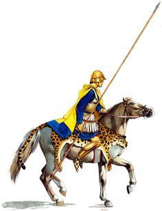 """Macedonian Companion (Heteroi) cavalryman, c. 330 BC"""