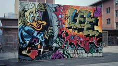 An exhibit showcases the creations of young graffiti writers who left their mark on New York City in the 1970s and '80s