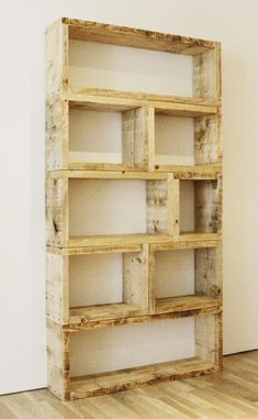 Pallet Furniture Projects Large Rustic Modern Box Shelf Shadow Box Custom Display Stacking Storage By Foo Foo La La Diy Pallet Furniture, Diy Furniture Projects, Diy Pallet Projects, Pallet Ideas, Wood Furniture, Furniture Plans, Furniture Design, Furniture Outlet, Discount Furniture