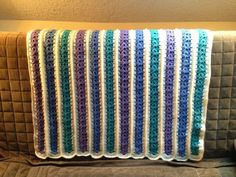 Mile a Minute Baby Afghan [2nd Crochet Version]