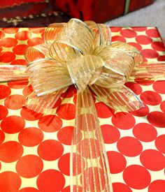 Fancy Christmas bows tutorial