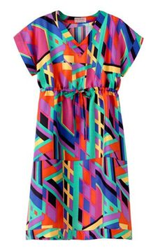 APC Madras Pullover Dress