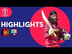 Newstou - Afghanistan v West Indies - Match Highlights ICC Cricket World Cup 2019 Cricket Videos, Pakistan Vs, Icc Cricket, Live Matches, Match Highlights, Sporting Live, Cricket World Cup, West Indies, Afghanistan