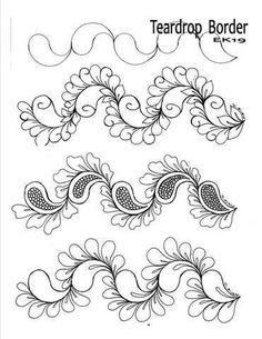 Ideas doodle art zentangle patterns beautiful for 2019 Tangle Doodle, Tangle Art, Zen Doodle, Doodle Art, Paisley Doodle, Zentangle Drawings, Doodles Zentangles, Doodle Drawings, Doodle Patterns