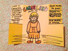 Children's Bible Lessons: Lesson - The Conversion Of Cornelius
