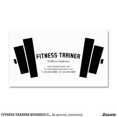 Personal Trainer Ideas for Business Development Personal Trainer, Card Workout, Barbell Weights, Gym Logo, Fitness Logo, Gym Fitness, Business Cards, Trainers, Logo Design