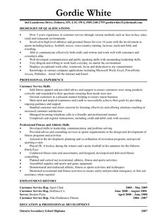 resume personal trainer