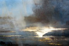 Zarina Stewart-Clark is a Scottish landscape artist whose paintings depict landscapes around the West Coast of Scotland and Suffolk. Her paintings are concerned with the changing light on land, sea and sky. Abstract Landscape Painting, Oil Painting Abstract, Landscape Art, Landscape Paintings, Watercolor Paintings, Watercolor Artists, Watercolor Landscape, Oil Paintings, Painting Art