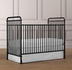 Love this iron crib by Restoration Hardware