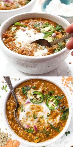 Easy Homemade Recipes, Veggie Recipes, Healthy Dinner Recipes, Whole Food Recipes, Healthy Snacks, Vegetarian Recipes, Cooking Recipes, Healthy Soup, Summer Soup Recipes