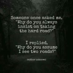 Hard Road Quotes
