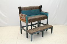 Billard Double Barstool~ New this October at the Fall Furniture Market in High Point NC~