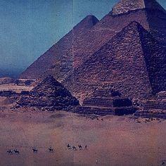 #pyramid #egyptian #desert