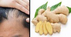Mascarilla de jengibre para combatir la caída del cabello