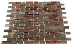 copper glass backsplash | striking combination of the metallic copper and frosted copper glass ...
