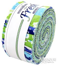 Fresh Jelly Roll from Missouri Star Quilt Co Really cool color combo!