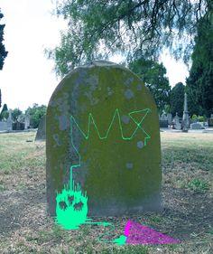 #MaxGrave #DrippingSkull #MelbourneCemetery #LimitedEditionPrint