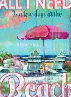 Beach quote via Living Life at www.Facebook.com/LivingLife2TheFull