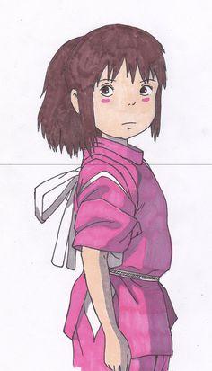 chihiro (sen) spirited away.
