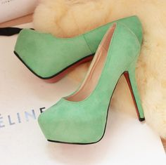 I have a purse from Celine, so why not pair it with these.