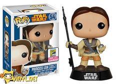 SDCC exclusives - Pop! Star Wars- Princess Leia [Boushh Unmasked] SDCC