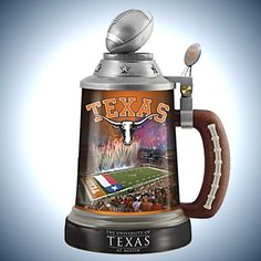 University Of Texas Longhorns Stein