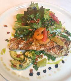Brennan's of Houston Texas Redfish & Citrus Salad