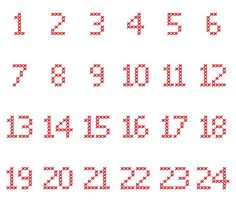 Image result for free graph of numbers for filet crochet