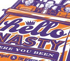 Beastie Boys   Illustrator: Travis Price: Melbourne Victoria Australia Vector