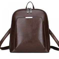 Vintage Women's Genuine Leather Backpack Price: 81.00 & FREE Shipping #online #shopping #market #electronics4 #pets #fitness #home #personal #beauty #bags #mobile #camera #jewellery #car #books #toys #kids #fashion Fashion Bags, Fashion Backpack, Fashion Women, Kids Fashion, Leather School Bag, Backpack Tags, Lightin The Box, Vintage Backpacks, Women's Backpacks