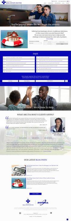 Custom Real Estate Web Design Custom Design, Web Design, Real Estate, Website, Sayings, Learning, Blog, Design Web, Lyrics