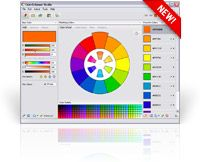 ColorSchemer Studio 2: This is a nifty little software tool (to buy) for creating color schemes, and more. There are a couple of videos that explain how it works, plus an on-line application to give you simple basic schemes for the color you choose.