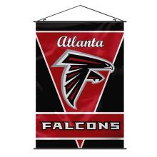 Atlanta Falcons NFL Team Logo Wall Banner w/ Hanger String